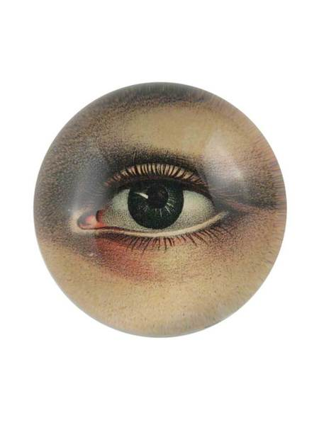 John Derian Left  Eye Paperweight