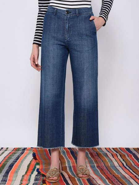 Leon & Harper Phil Stone Crop Jeans