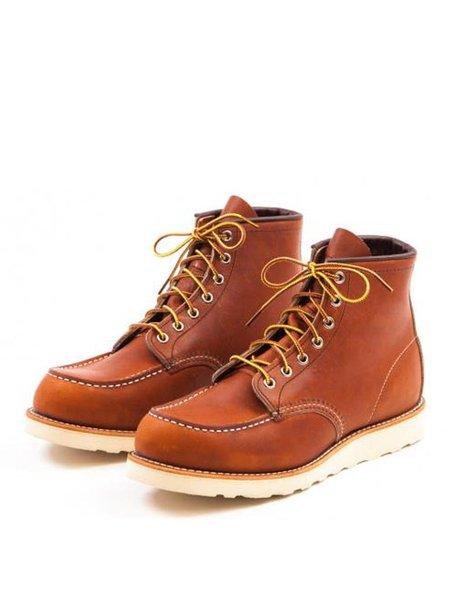Redwing 875 Moc Toe Oro Boot - TAN