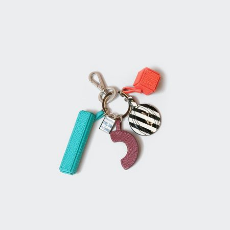 Henrik Vibskov Couronne Ornaments  Keyring - Bordeaux