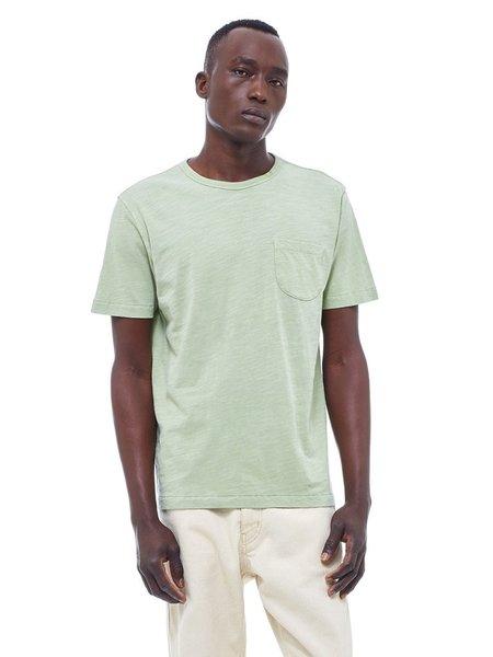 YMC Wild Ones Pocket T-Shirt in Light Green