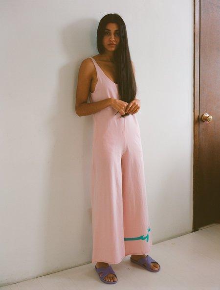 OffSeasonNYC Souvenir Sportsuit - Dusty Pink Knit Jersey