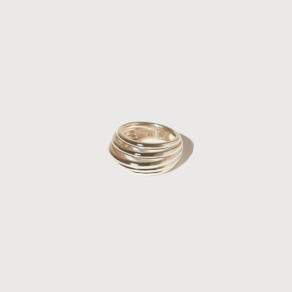 J. Hannah Stacked Form Ring