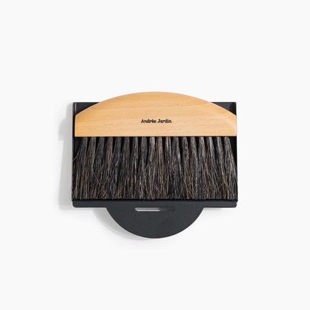 Andree Jardin Mini Brush and Dustpan Set - Black