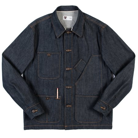 Tellason Coverall Jacket - 12.5 oz Cone Mills Denim