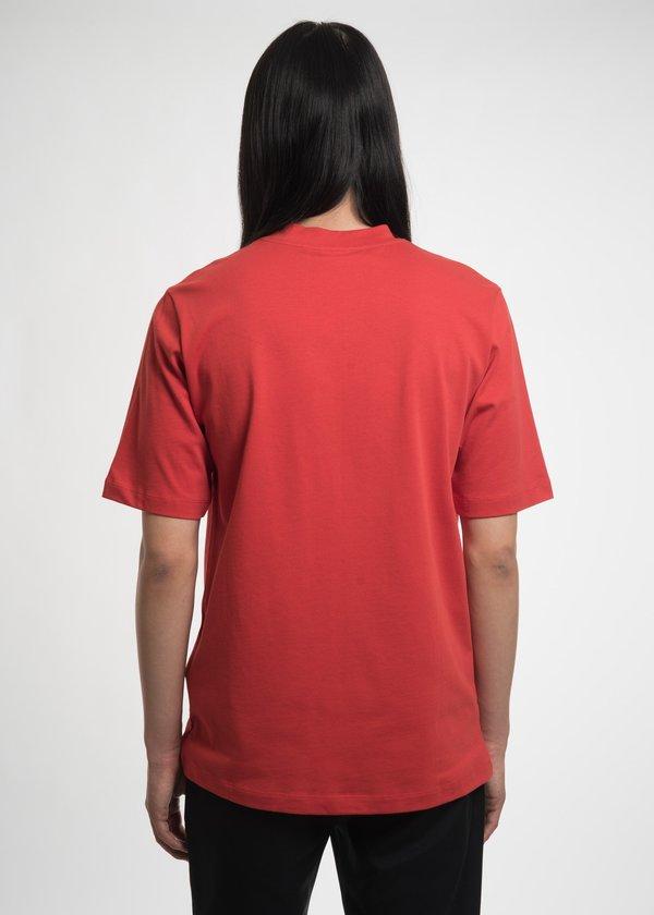 Helmut Lang Red Campaign PR T-Shirt