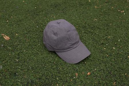 Colorant natural dyed fitted Cap 100% raw silk charcoal
