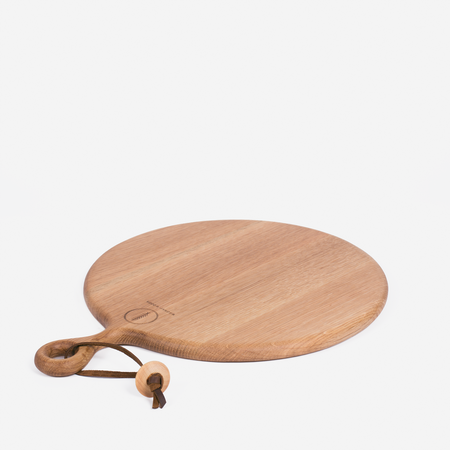 Wronko Woods Round Cutting Board - Oak