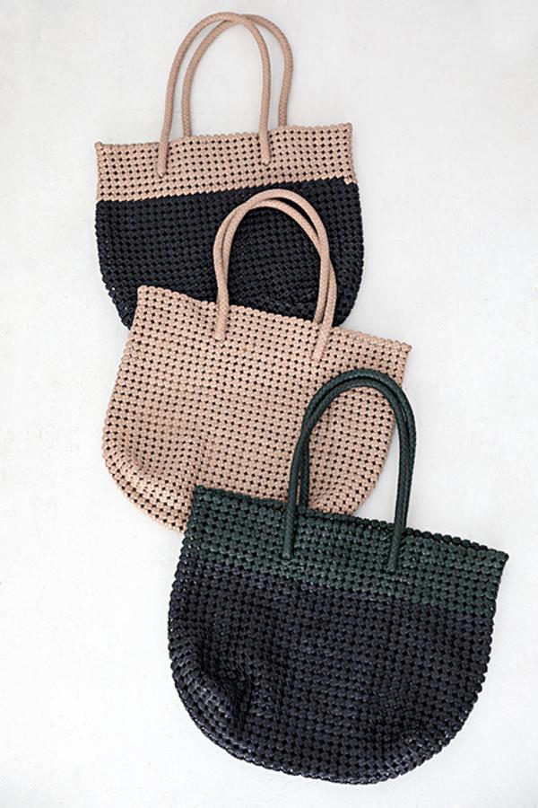 Vive La Difference Knot Bag