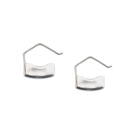 Erin Considine Blade Mini Hoop - Silver