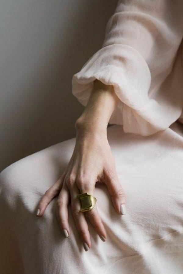 Erin Considine Corbu Ring - Brass