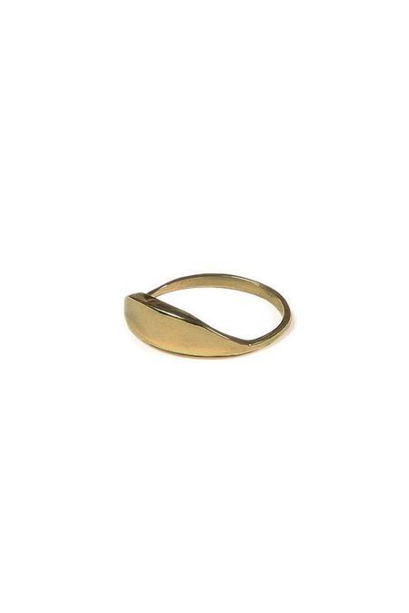 Erin Considine Dune Ring - Brass