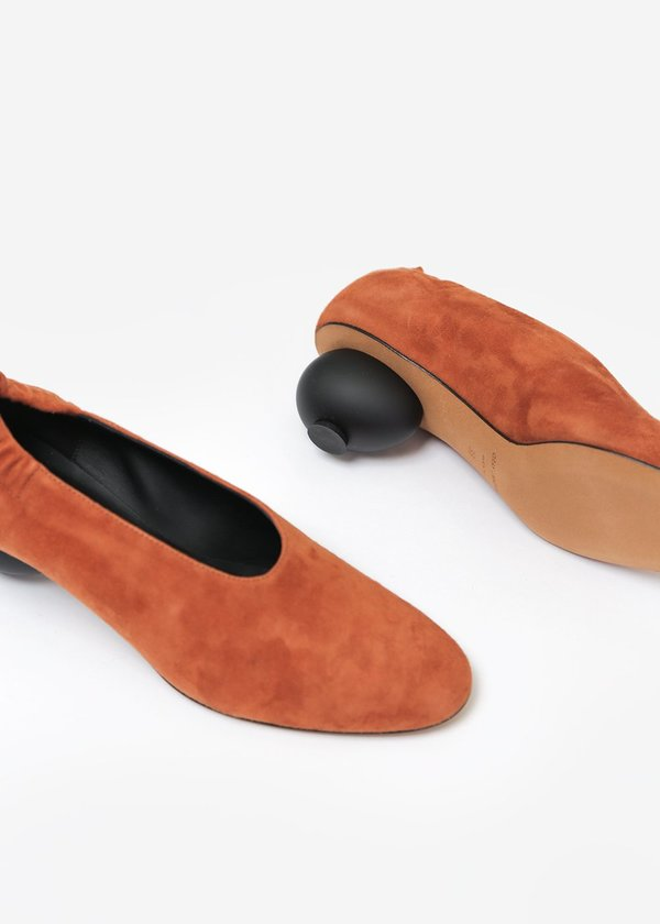 Gray Matters Mildred Egg Pump - Castaono Suede