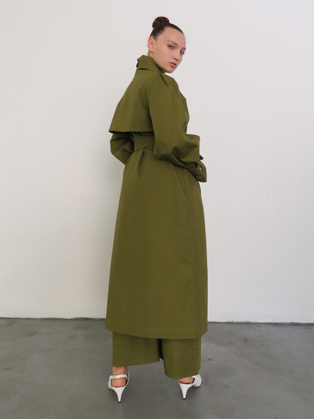 Mr. Larkin Ida Trench - Olive