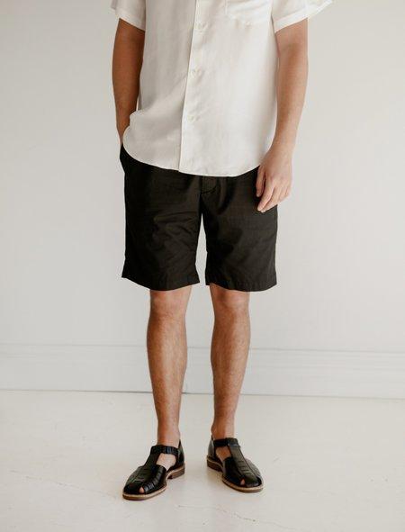 Engineered Garments Sunset Short Black Malibu Poplin