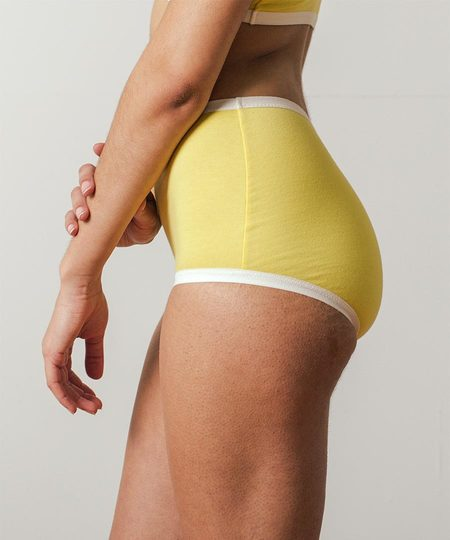 Botanica Workshop Astra Hi-Waist Brief - Mimosa