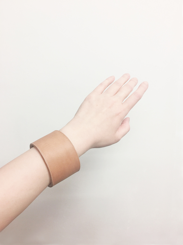 Bartleby Objects Open Leather Cuff
