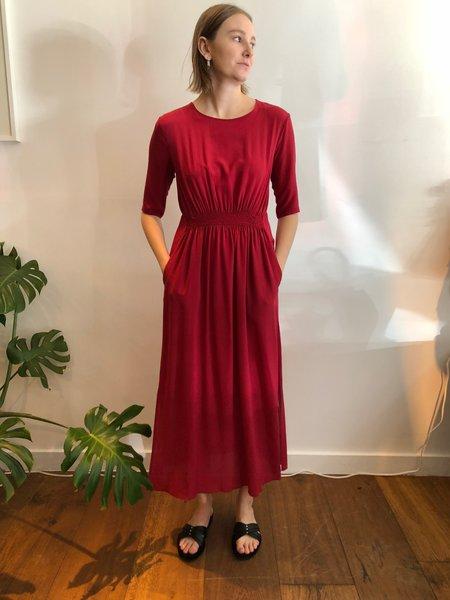 Pomandère Long Rouge Dress