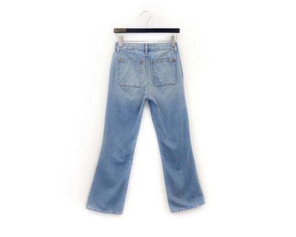 Khaite Rachel Patch Pocket Jeans