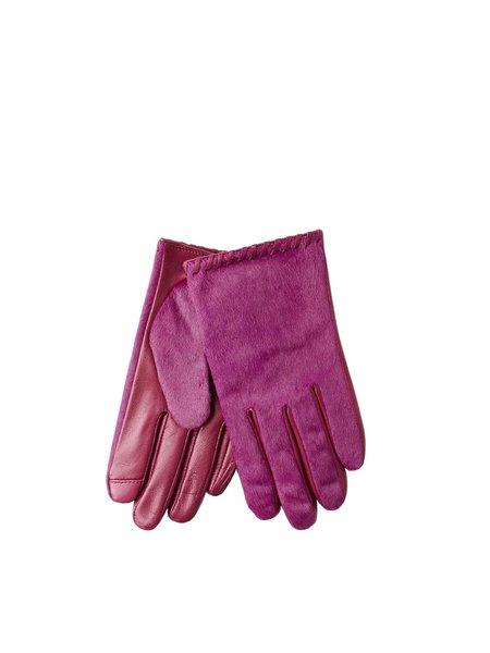 Echo Whipstitch Glove - Fuschia