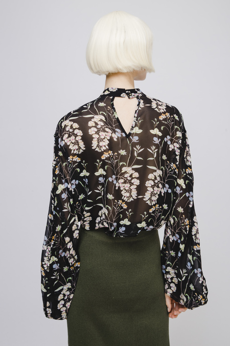Opusion Floral Print Blouse