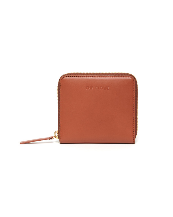 The Stowe Square Wallet - Cognac