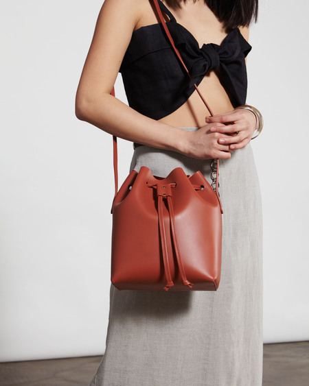 The Stowe Brady Bucket Bag - Cognac