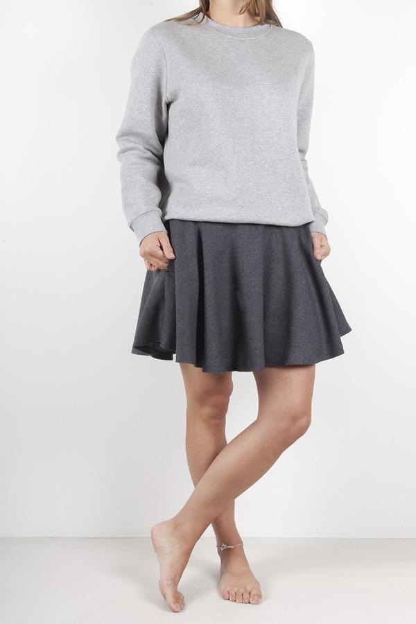 Ganni Prescott Wool Skirt