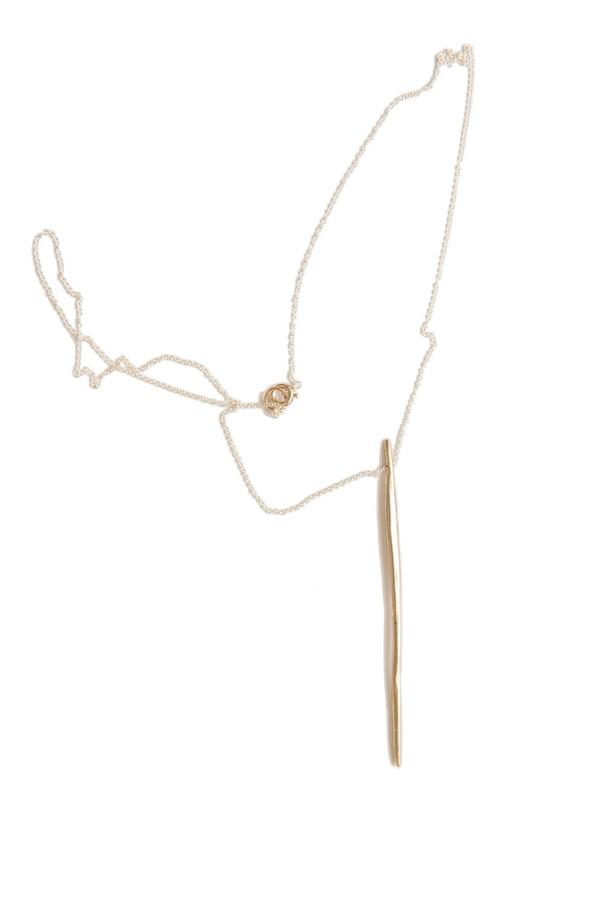 Uni Jewelry Whisper Necklace - Bronze