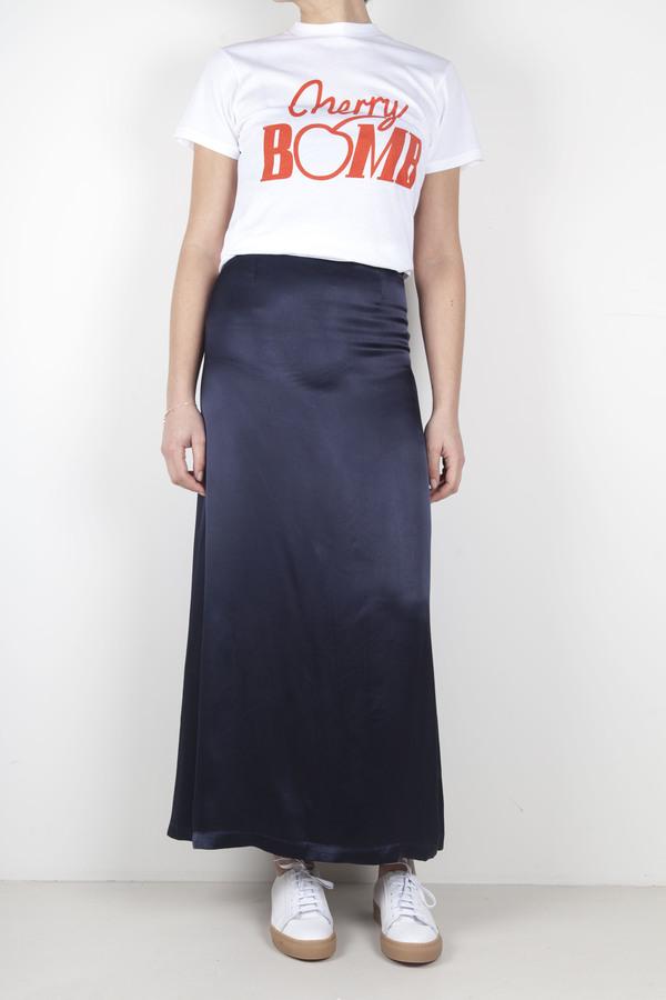 Ganni Donnelly Satin Skirt