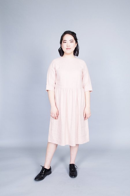 Ode to Sunday Colette Dress Pink