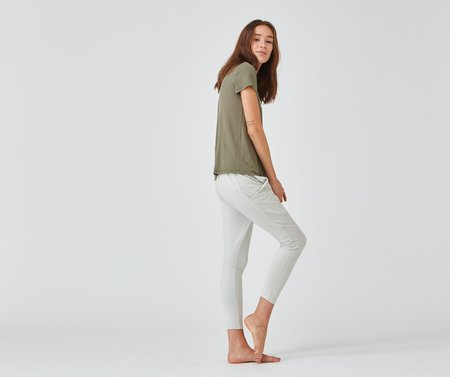 Crow Collective Journey Pants - White Sands