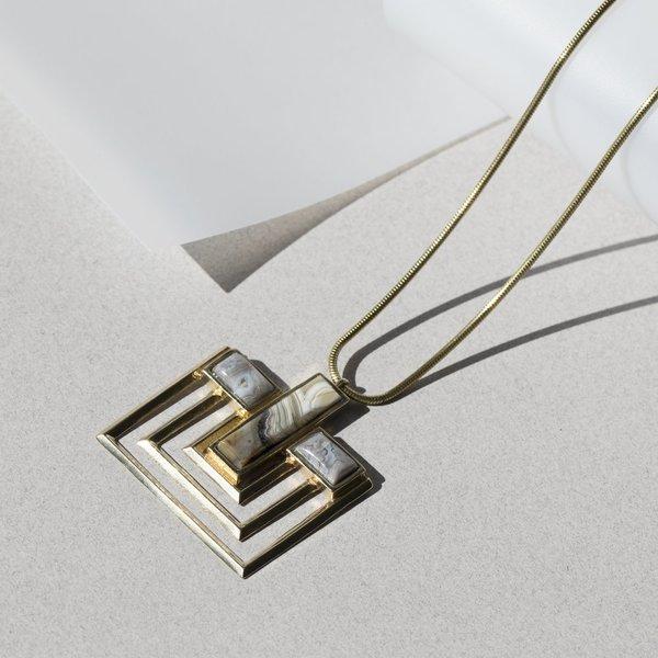 Lindsay Lewis Parallel Necklace