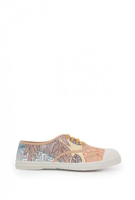 BENSIMON PINK & BROWN TENNIS