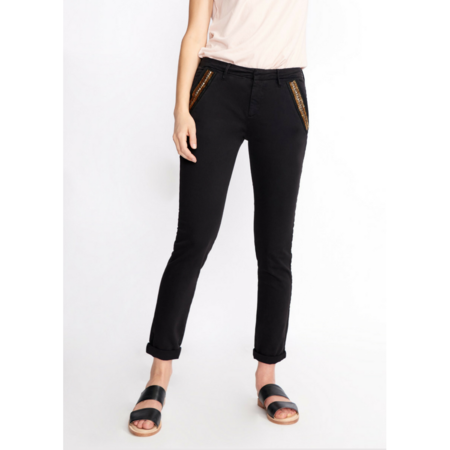 Reiko SANDY RIBBON CHINO - BLACK