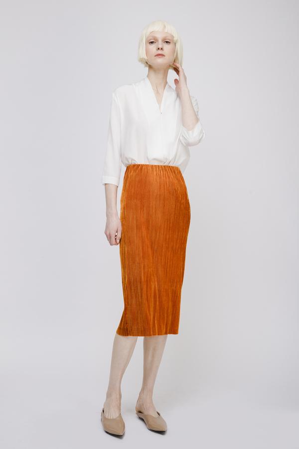 Opusion RibbedStretch Pencil Skirt