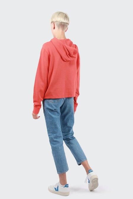 Calvin Klein Colour Pop Hoodie - Wild orange