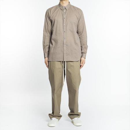 S.K. Manor Hill Egon Shirt - Gray Lawn