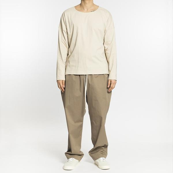 S.K. Manor Hill Long Sleeve Dolman T-Shirt - Sand