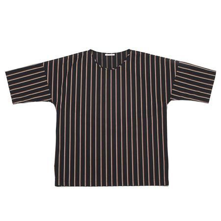 S.K. Manor Hill Palatine Shirt - Navy/Orange Stripe