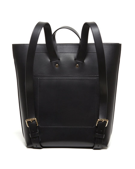 The Stowe Alex Backpack - Black