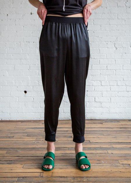 6397 Silk Sweatpants - Black/Silk