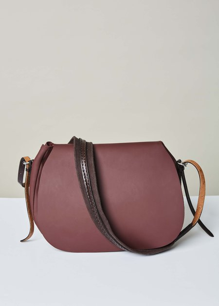 A Détacher Leigh Shoulder Bag - Bordeaux