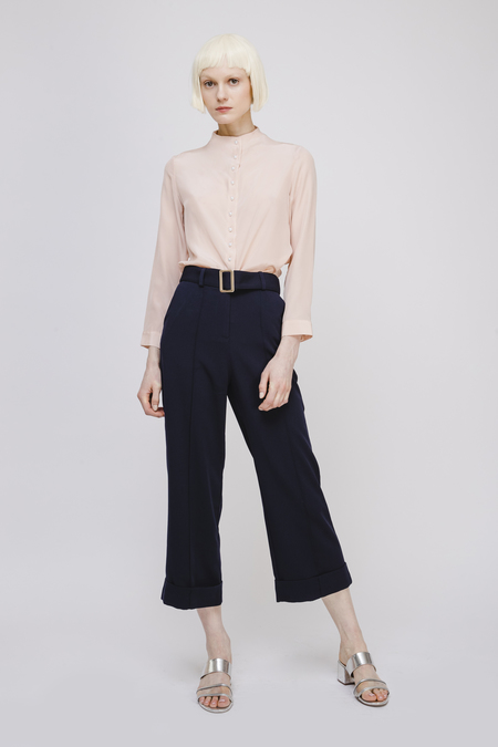 Fansilanen Wide Leg Pants with Belt