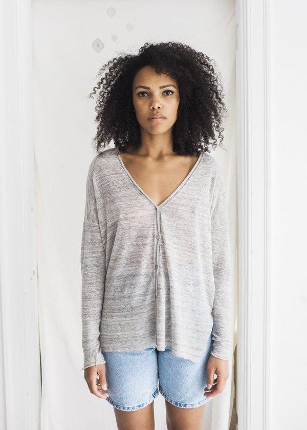 Line Knitwear Alex Cardigan - Dusk