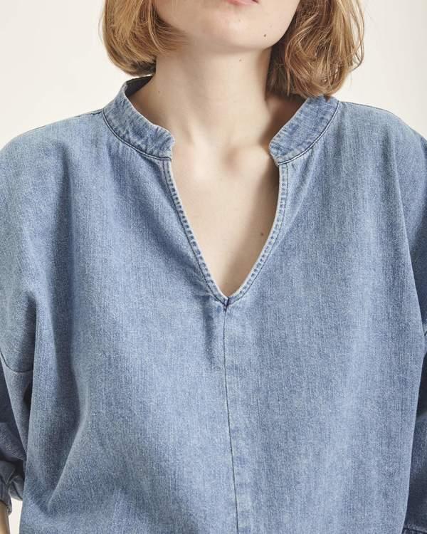Ilana Kohn Ava shirt - denim