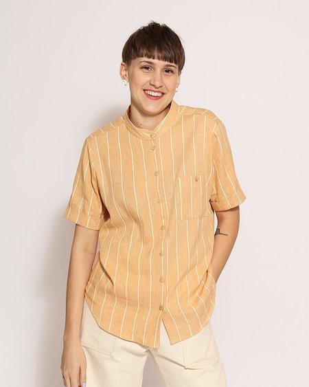Sunad Gibson Shirt in Desert Stripes