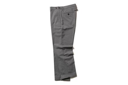 Beams + Combat Wool Trousers - Grey