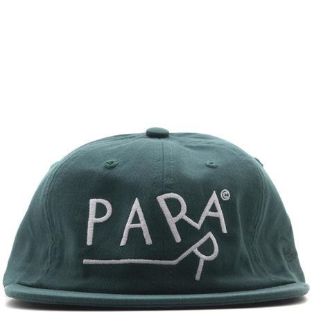 By Parra Dragging 6 Panel Hat - Mallard Green