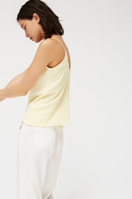 Lacausa Clothing Jersey Cami - Chamomile